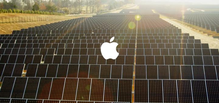 Apple и слънчева енергия